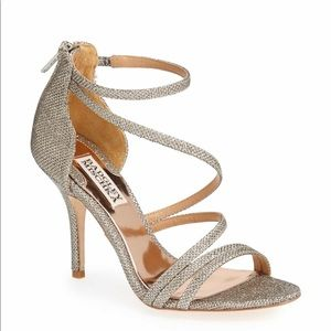 Badgley Mischka landmark ankle strapped sandal